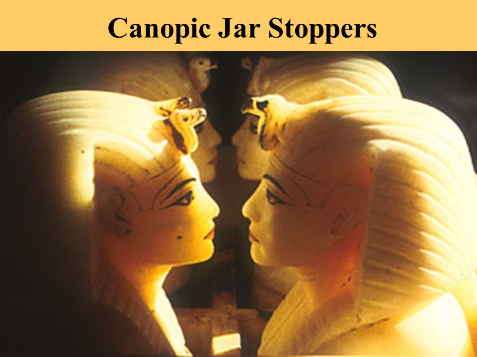 Canopic Jar Stoppers