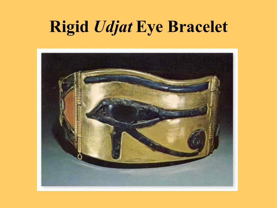 Rigid Udjat Eye Bracelet