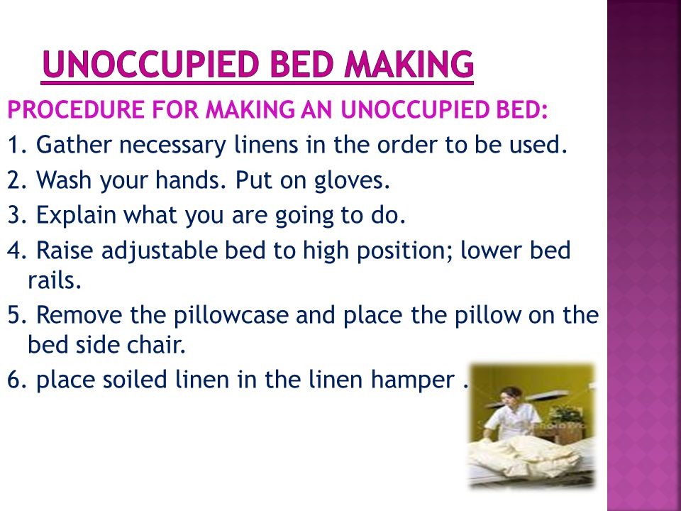 19.Spread the top sheet and the blanket over the client.