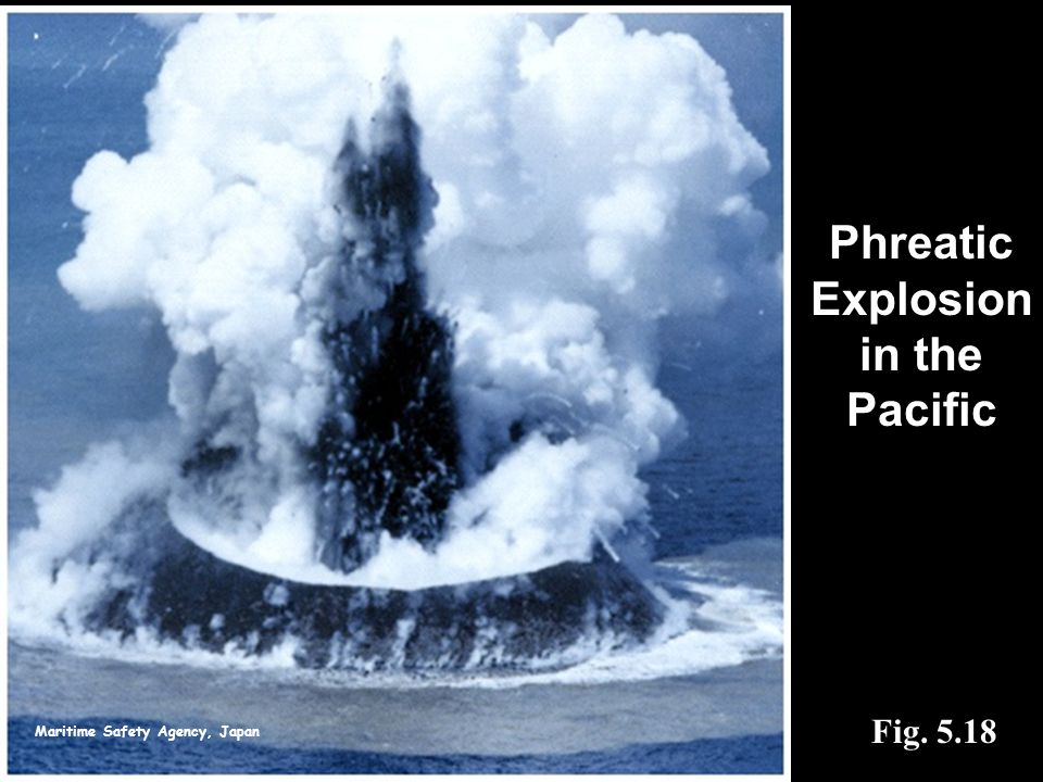 Maritime Safety Agency, Japan Fig. 5.18 Phreatic Explosion in the Pacific