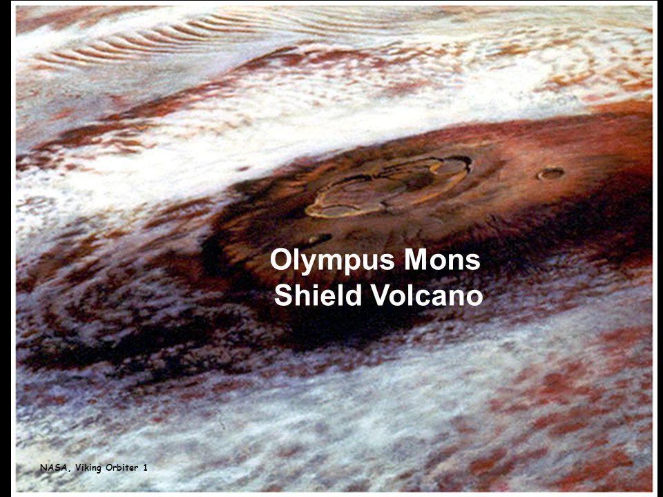 NASA, Viking Orbiter 1 Olympus Mons Shield Volcano