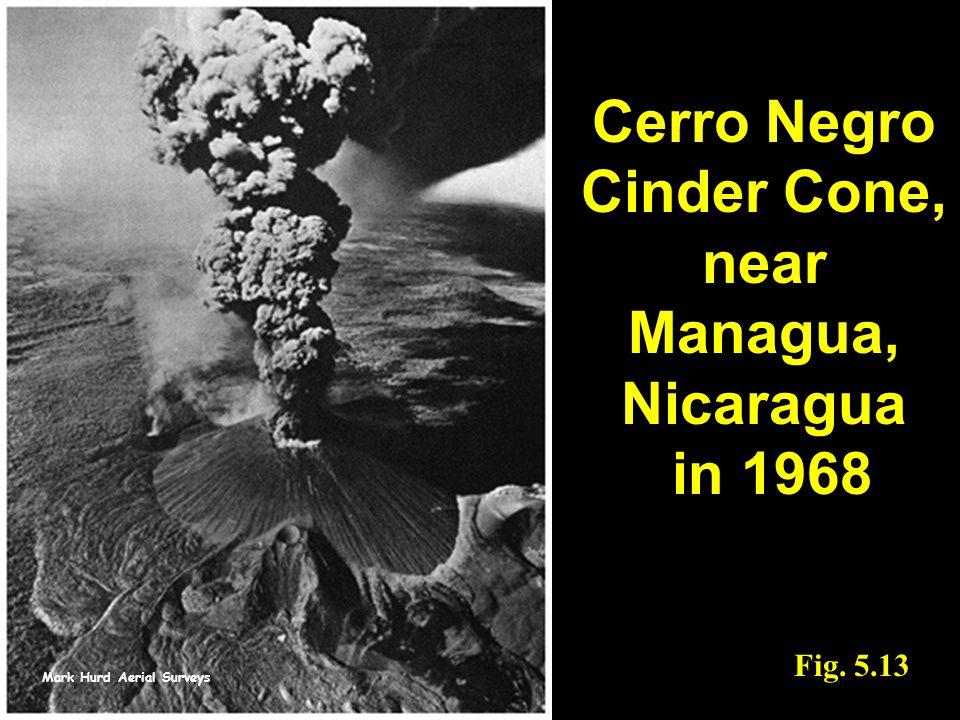 Mark Hurd Aerial Surveys Fig. 5.13 Cerro Negro Cinder Cone, near Managua, Nicaragua in 1968