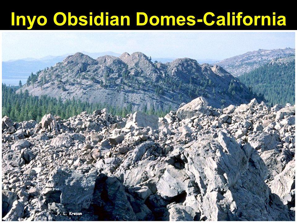 P. L. Kresan Inyo Obsidian Domes-California