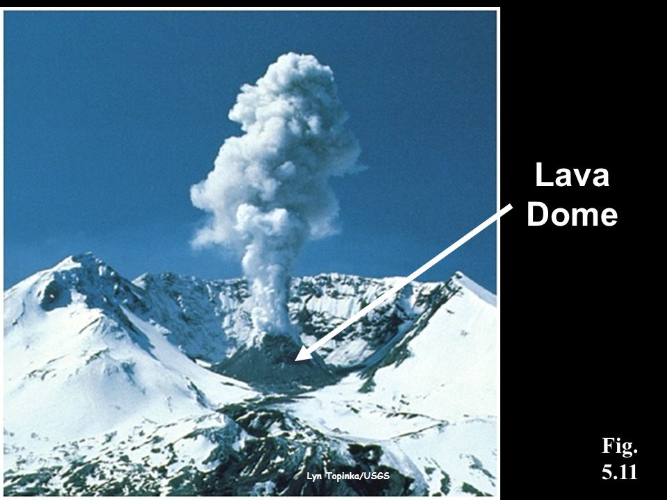 Lyn Topinka/USGS Fig. 5.11 Lava Dome