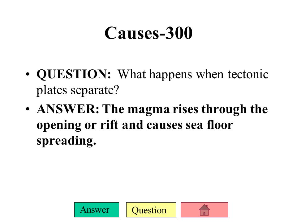 Question Answer Causes-200 QUESTION: How do you change rock into magma? ANSWER: Increase temperature or decrease pressure