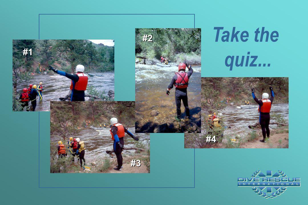 Take the quiz... #1 #3 #4 #2