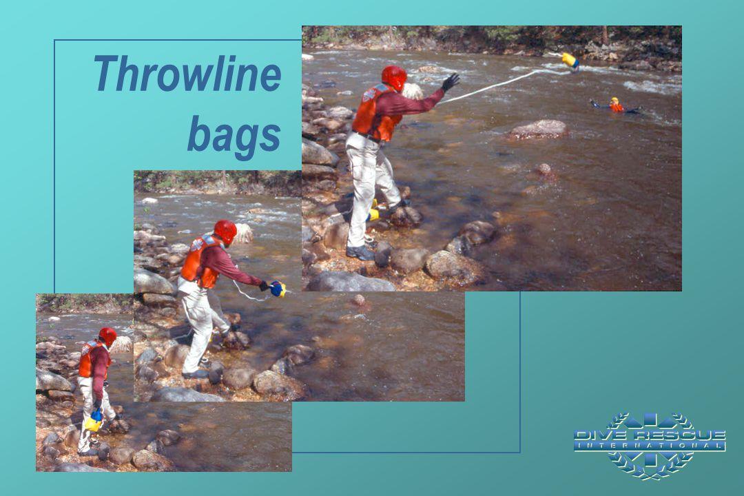 Throwline bags