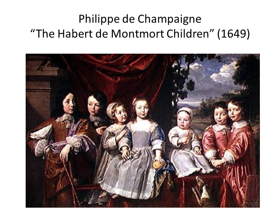 Philippe de Champaigne The Habert de Montmort Children (1649)