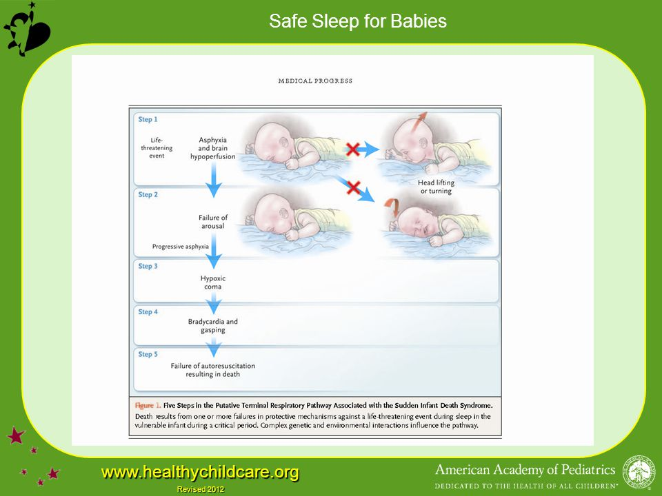 Safe Sleep for Babies www.healthychildcare.org Revised 2012
