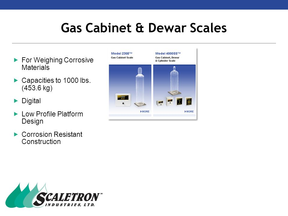 Scale Controller Comparison Chart  Scaletron offers a range of indicators from basic to fully featured.