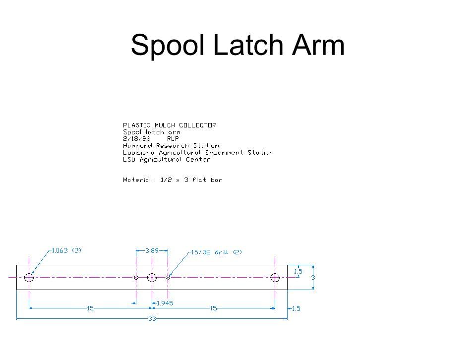 Spool Latch Arm