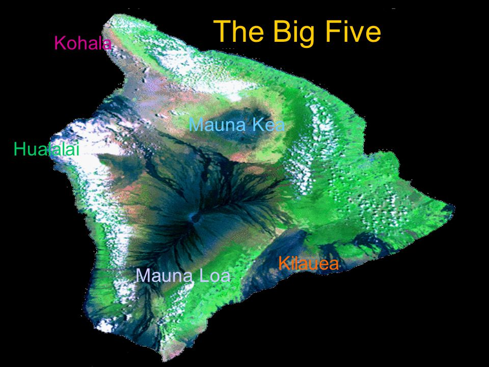 Type of Volcanoes Composite volcanoes have steep slopes Hawaii's shield volcanoes slope very gradually