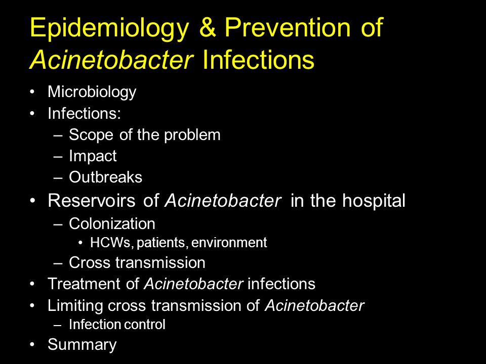 Acinetobacter Akinetos, Greek adjective, unable to move Bakterion, Greek noun, rod Nonmotile rod Brisou and Prévot, 1954