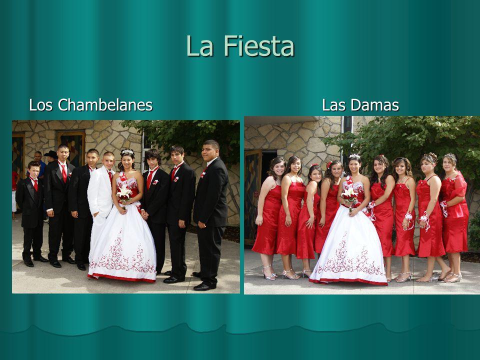 La Fiesta Los Chambelanes Las Damas