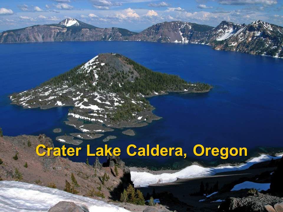 Crater Lake Caldera, Oregon