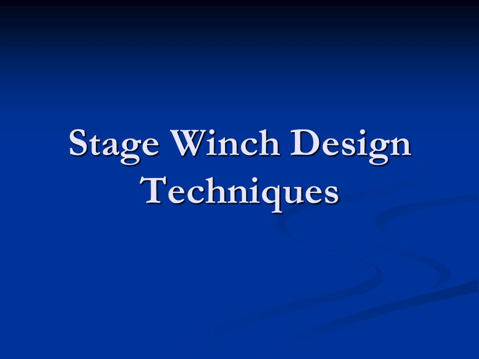 Design © 2006 Fisher Technical Services, Inc. www.fishertechnical.com