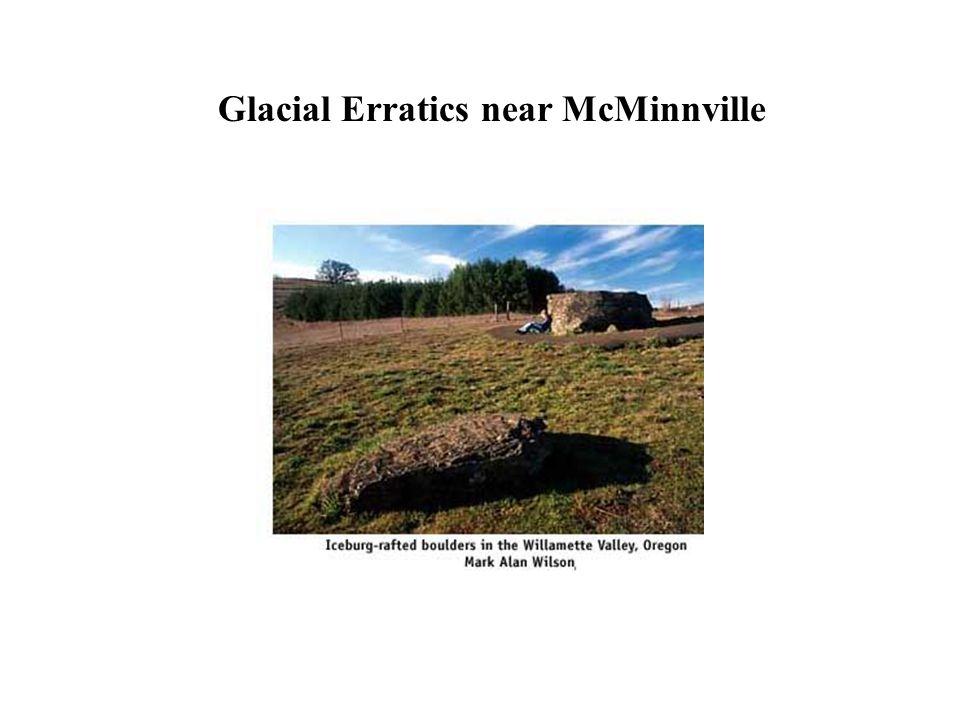 Glacial Erratics near McMinnville