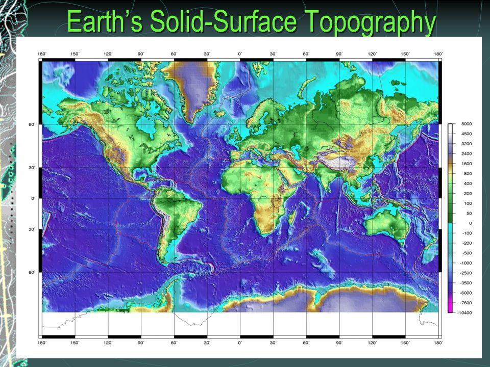 Cross-Section of the North Atlantic Ocean Basin