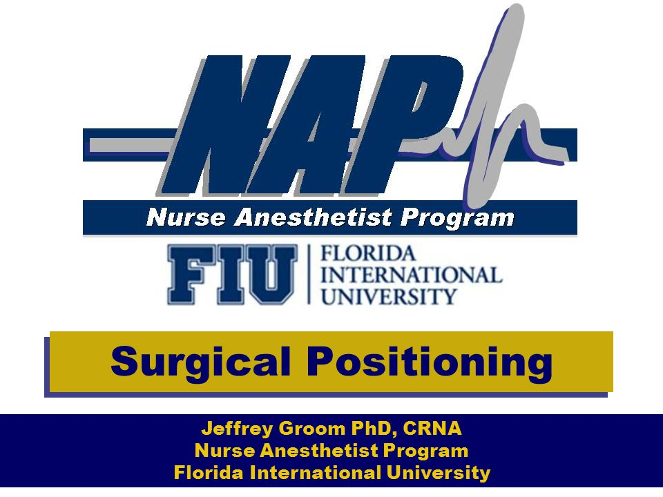 Surgical Positioning Lateral Decubitus Presents anesthetic challenges- –Compression of vena cava with kidney rest –Dependent lung is underventilated-pressure of abdominal contents and wt of mediastinum.