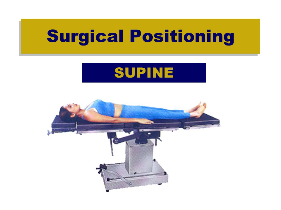 Surgical Positioning Prone Cardiac –Pooling of blood in extremities -Compression of abdominal muscles -Decrease preload, c.o., and blood pressure -Increased SVR and PVR -Decreased stroke volume and cardiac index -TEDS or pneumatic sequential compression stockings to minimize pooling of blood