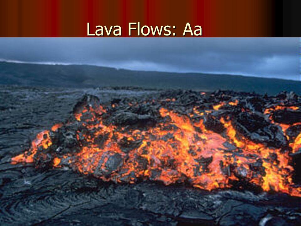 Lava Flows: Aa