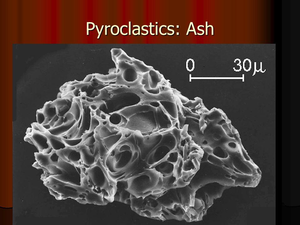 Pyroclastics: Ash