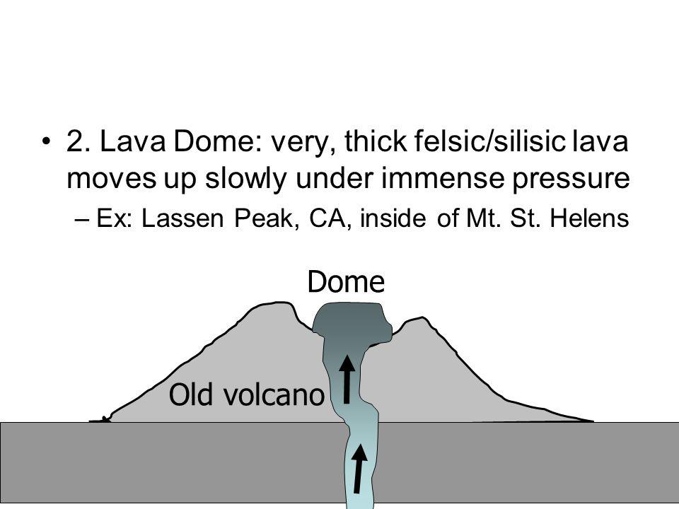 Volcano: lahar mud flow