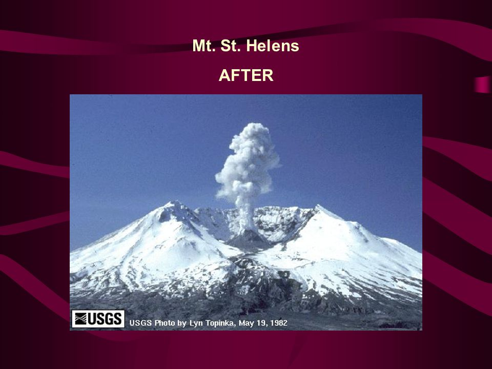 Mt. St. Helens AFTER
