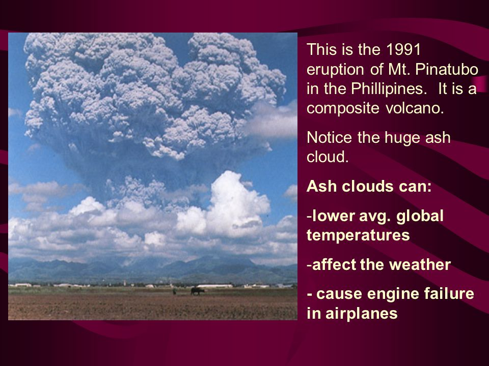 This is the 1991 eruption of Mt. Pinatubo in the Phillipines.