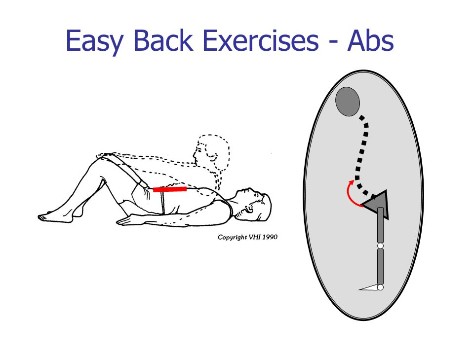 Easy Back Exercises - Abs