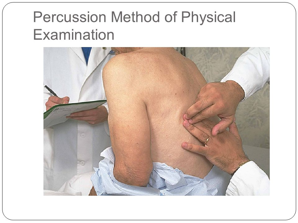 Percussion Method of Physical Examination