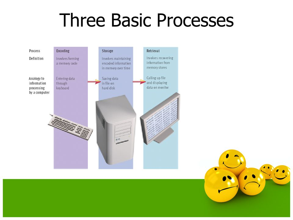 Three Basic Processes