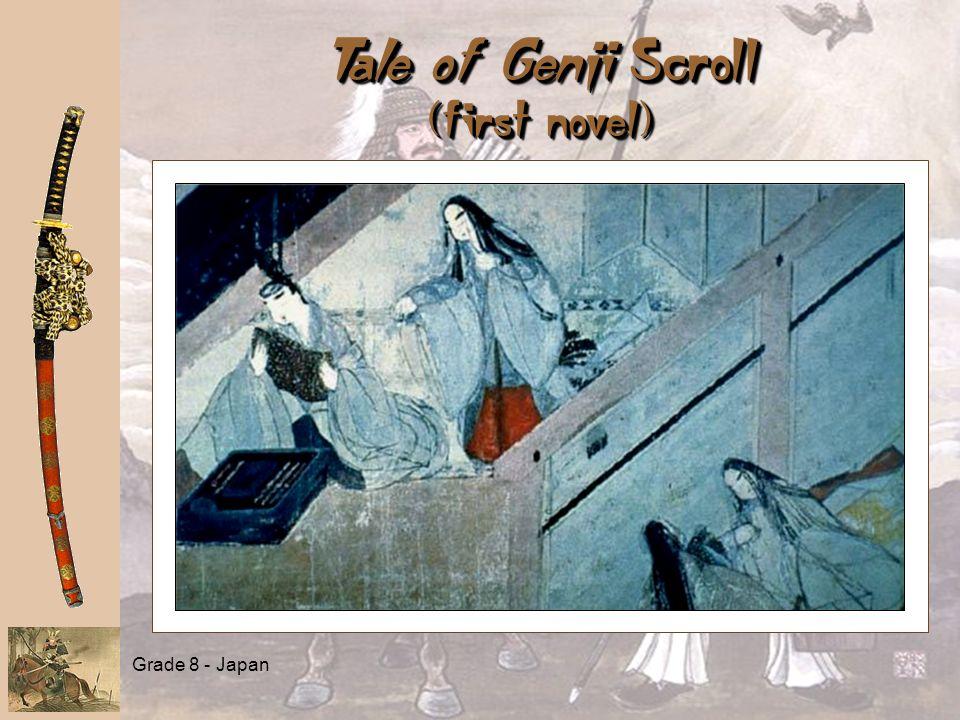 Grade 8 - Japan Tale of Genji Scroll (first novel)
