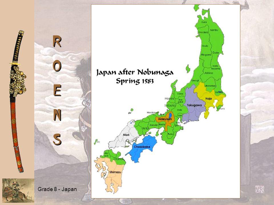 Grade 8 - Japan ROENSROENS ROENSROENS