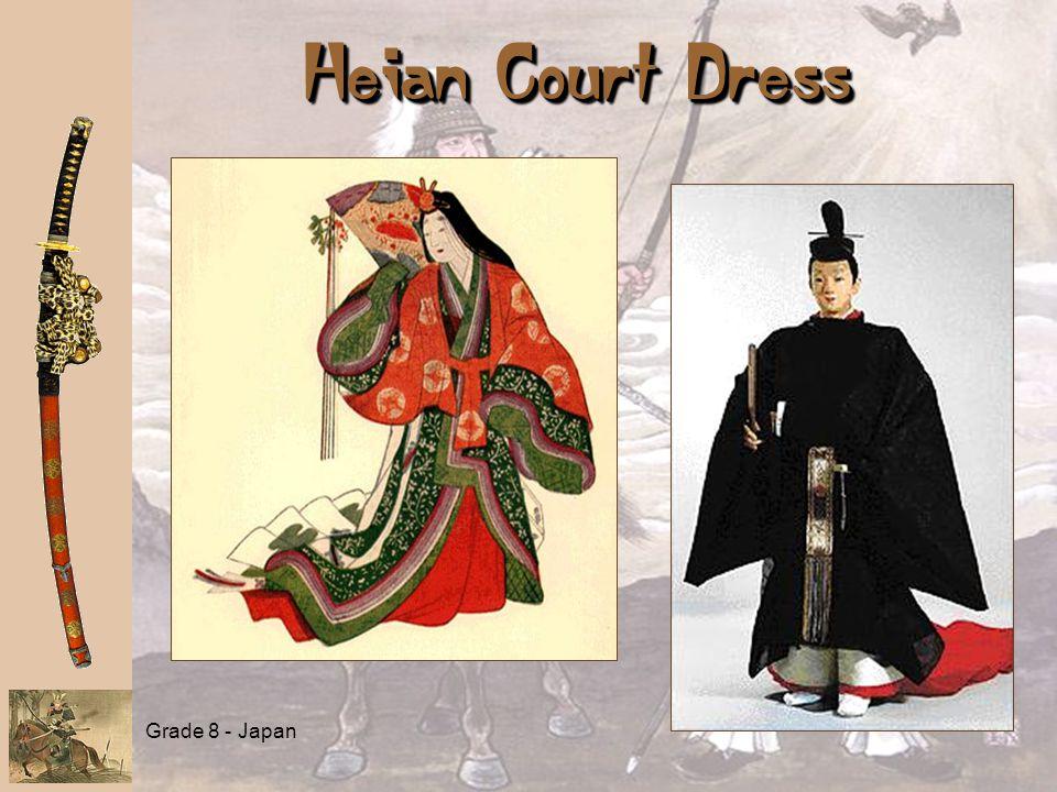 Grade 8 - Japan Heian Court Dress