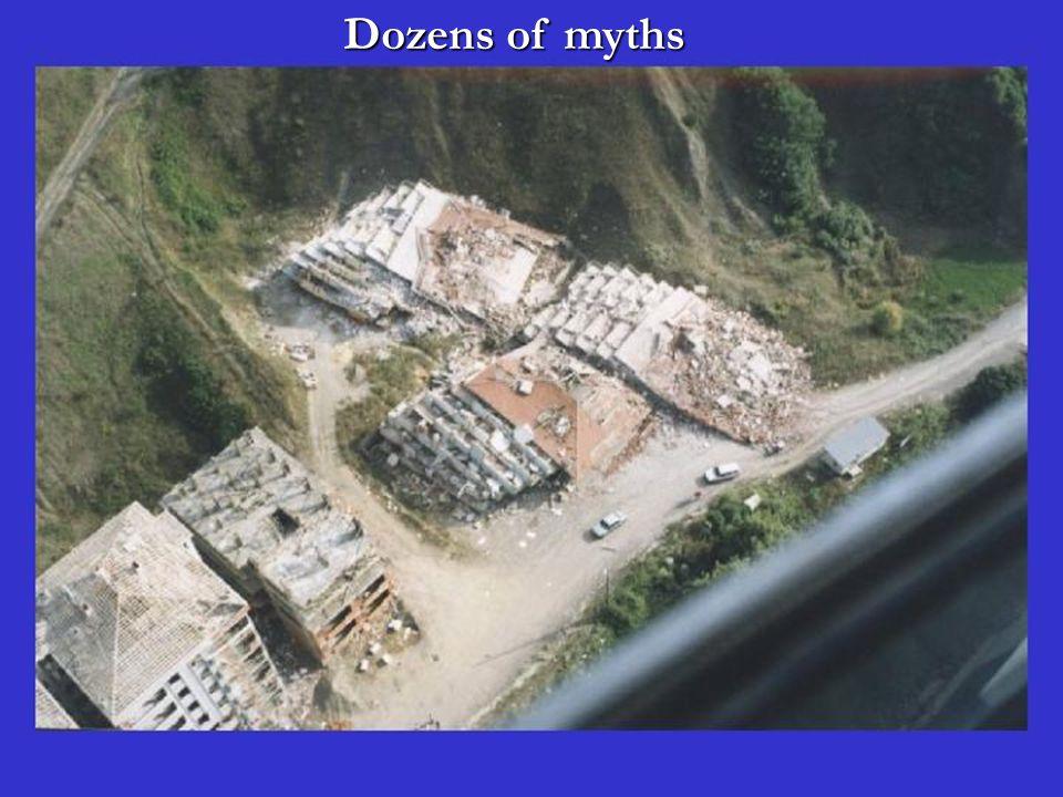 Dozens of myths Dozens of myths