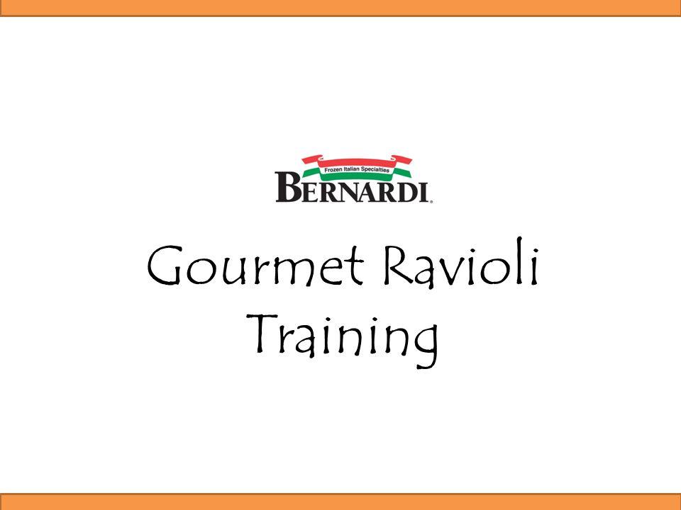 Gourmet Ravioli Training