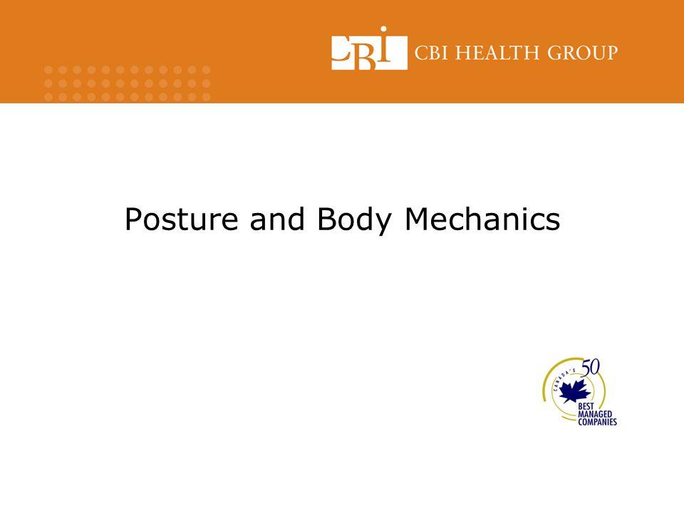 Posture and Body Mechanics