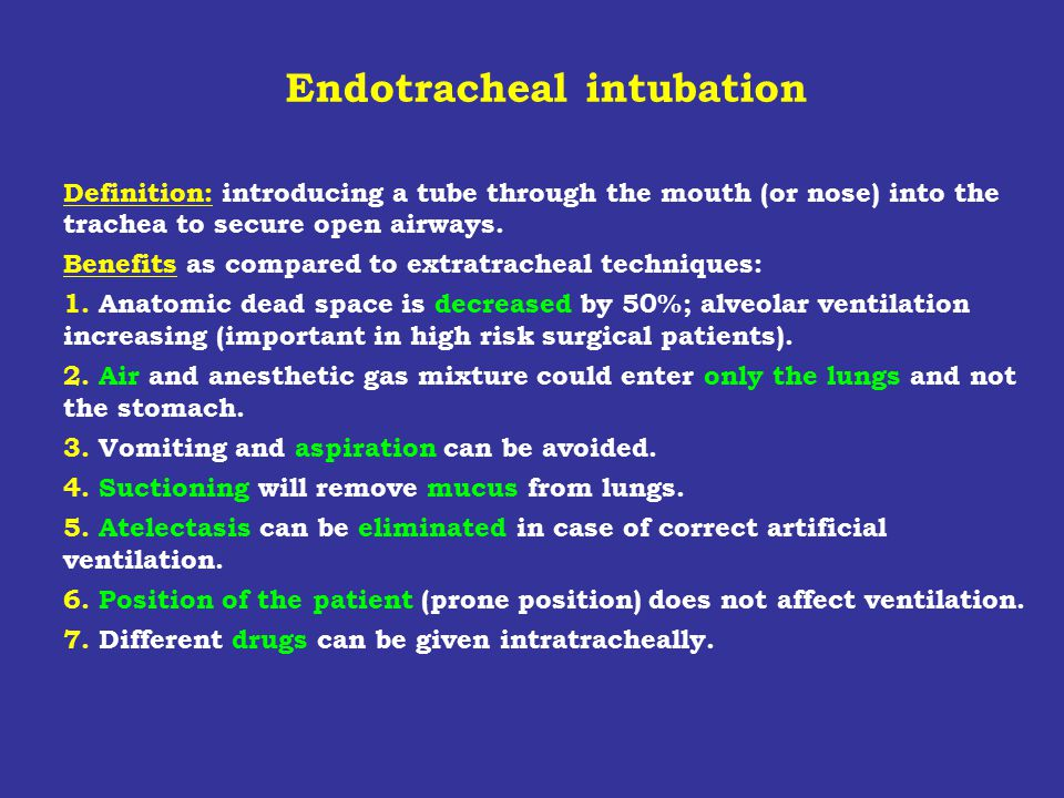10.Deepness of intubation Can be read on the side of the tube.
