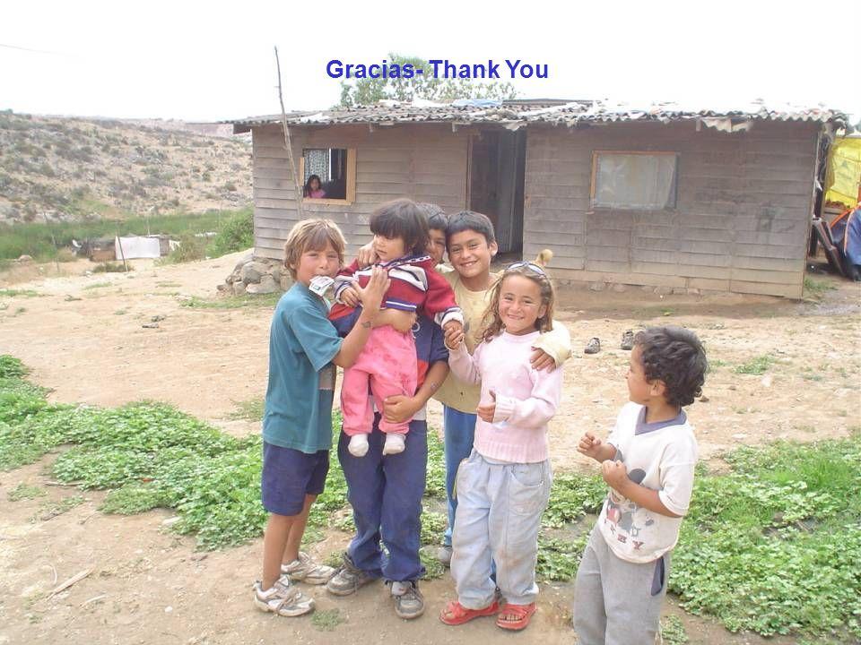 Gracias- Thank You