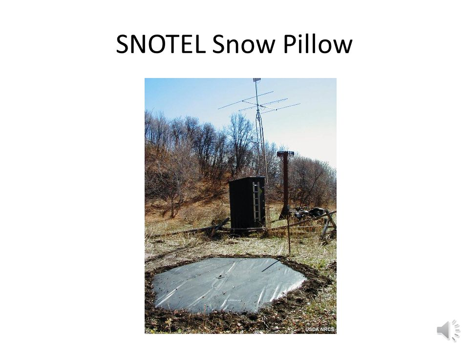 SNOTEL Snow Pillow