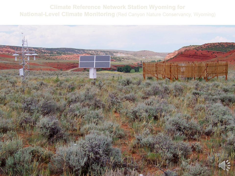 Climate Reference Network Station Wyoming for National-Level Climate Monitoring (Red Canyon Nature Conservancy, Wyoming)