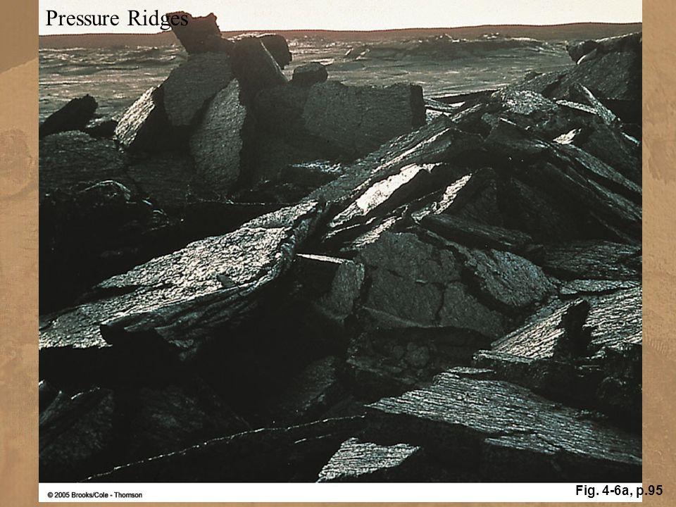 Pressure Ridges Fig. 4-6a, p.95