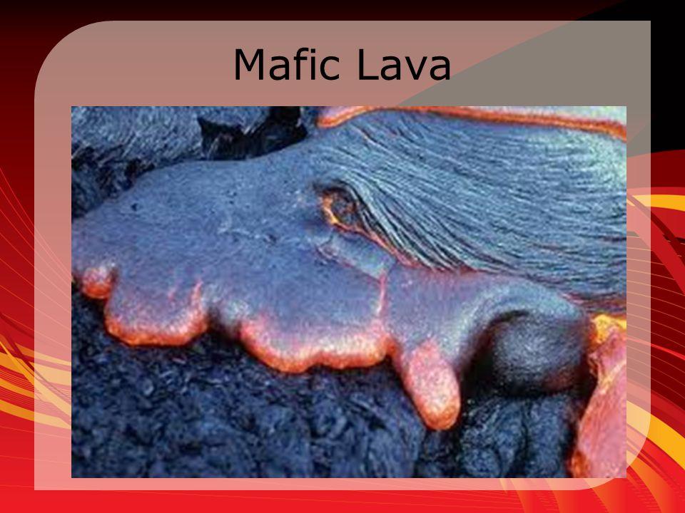 Mafic Lava