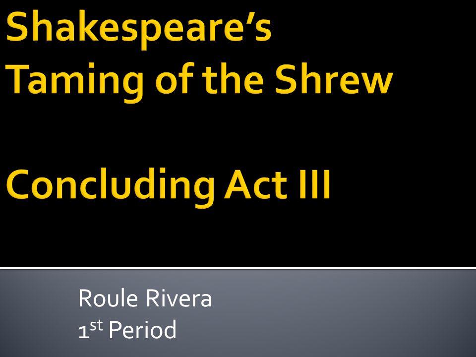 Roule Rivera 1 st Period