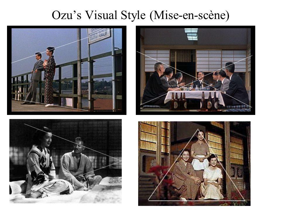 Ozu's Visual Style (Mise-en-scène)