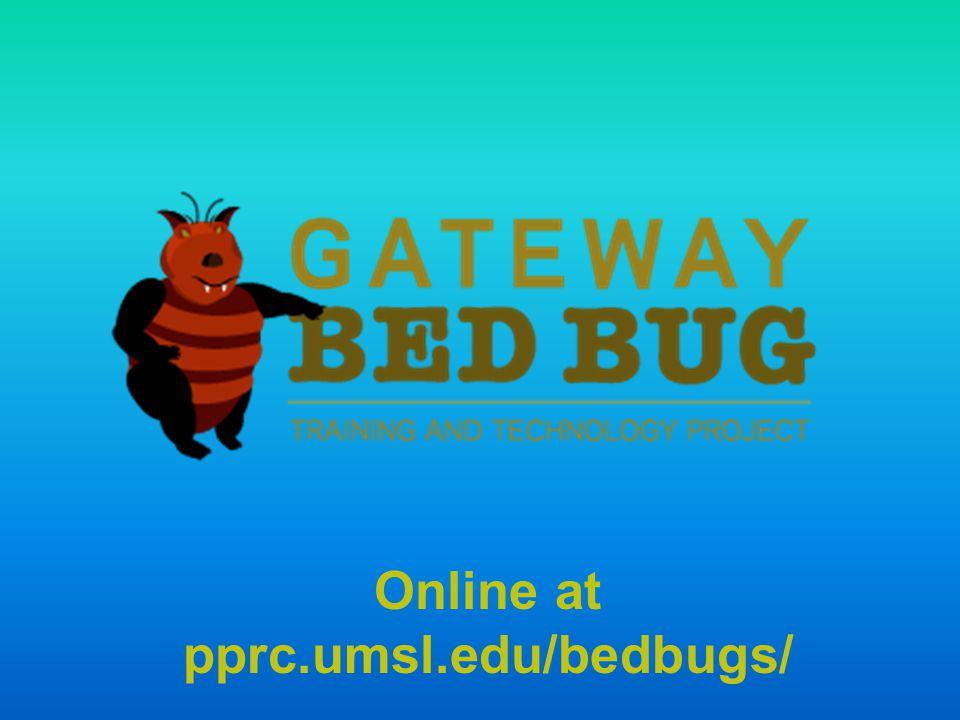 Online at pprc.umsl.edu/bedbugs/