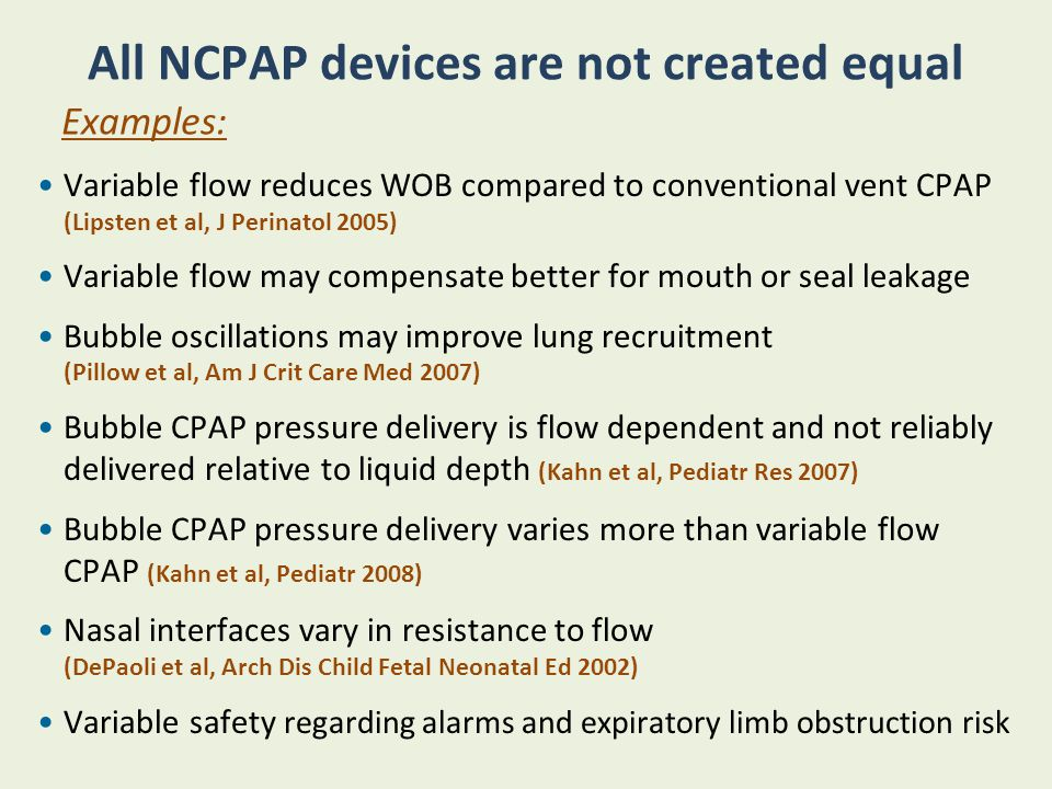 NIPPV SiPap NAVA NCPAP NIV using RAM Cannula HFONC Mechanisms of Action Physiologic Rationale Challenges for Clinical Research Does it matter which NIRS strategy is used in a given patient or NICU.