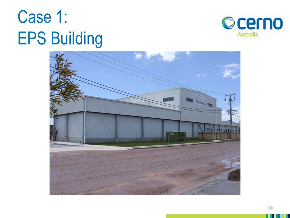 Case 1: EPS Building 10