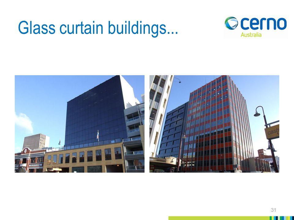 Glass curtain buildings... 31